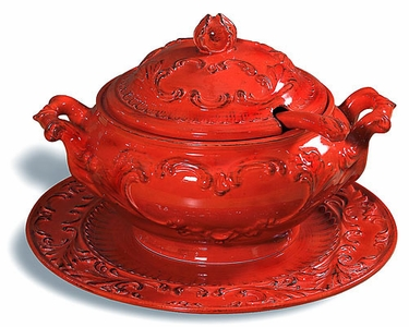 Baroque Red Zuppiera