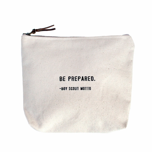 Be Prepared Canvas Bag by Sugarboo Designs