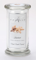 Beachside Large Apothecary Jar Kringle Candle | Large Apothecary Jar Kringle Candles