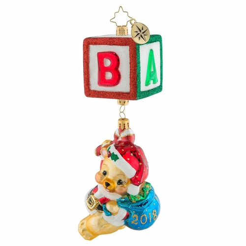 Bear Block Party Ornament by Christopher Radko