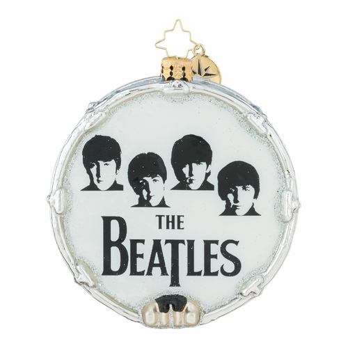 Beat-le Mania Ornament by Christopher Radko