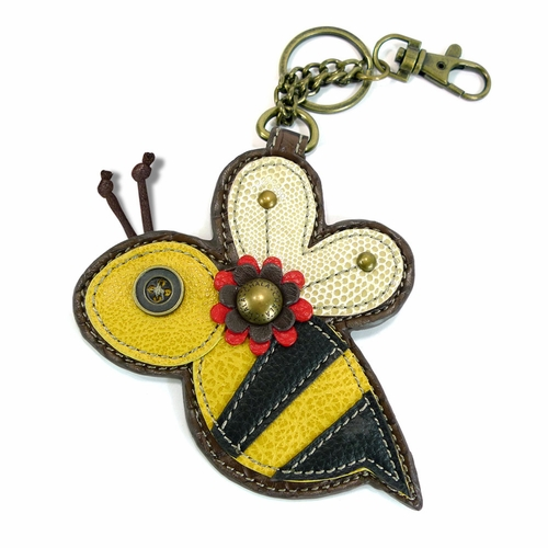 Bee Key Fob/Coin Purse
