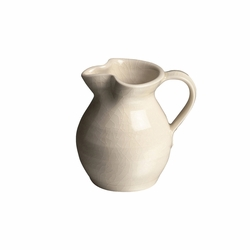 Belmont Ivory Creamer by Simon Pearce