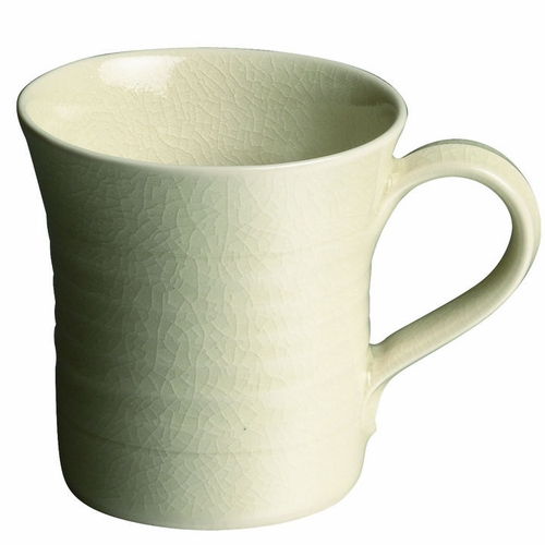 Belmont Ivory Mug by Simon Pearce