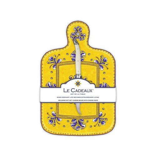 Benidorm Cheese Board With Knife by Le Cadeaux