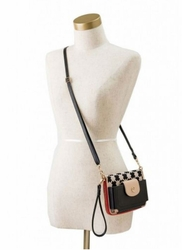 Black Crossbody Strap by Spartina 449