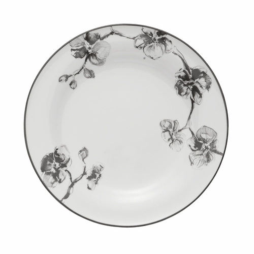 Black Orchid Dinner Plate by Michael Aram