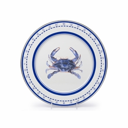 Blue Crab Charger by Golden Rabbit