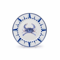 Blue Crab Dinner Plate by Golden Rabbit