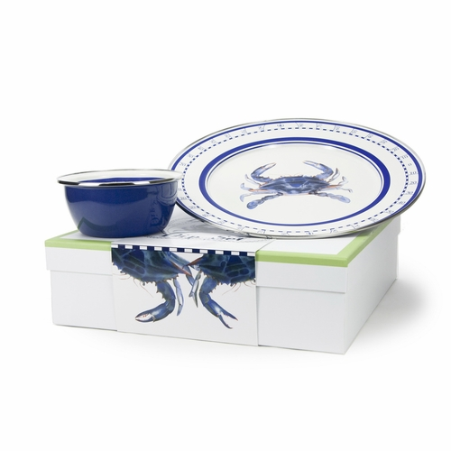 Blue Crab Dip Set by Golden Rabbit