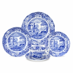 Blue Italian 5-Piece Place Setting by Spode