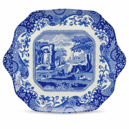 Blue Italian English Bread And Butter Plate by Spode