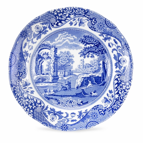 Blue Italian Set of 4 Bread And Butter Plates by Spode