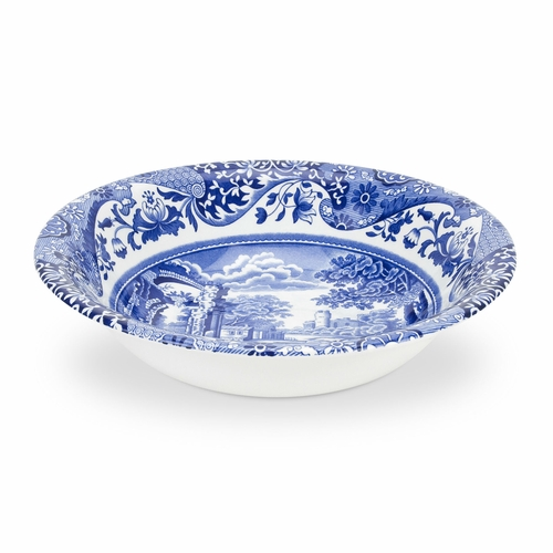 Blue Italian Set of 4 Cereal Bowls by Spode