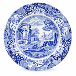 Blue Italian Set of 4 Dinner Plates by Spode
