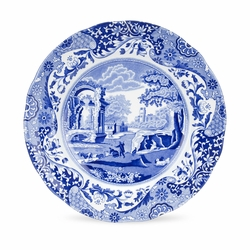 Blue Italian Set of 4 Luncheon Plates by Spode