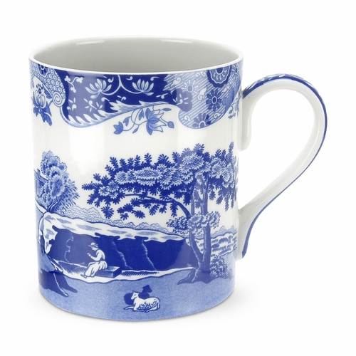 Blue Italian Set of 4 Mugs (16 oz.) by Spode
