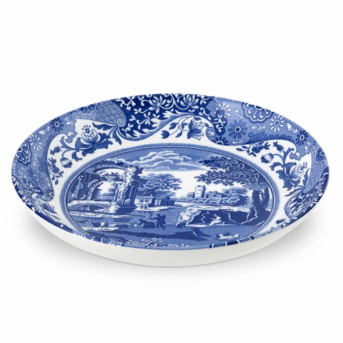 Blue Italian Set of 4 Pasta Bowls by Spode