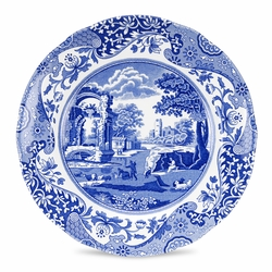 Blue Italian Set of 4 Salad Plates by Spode