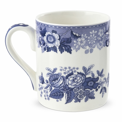 PRE-ORDER - Available Late July - Blue Room Blue Rose Mug by Spode