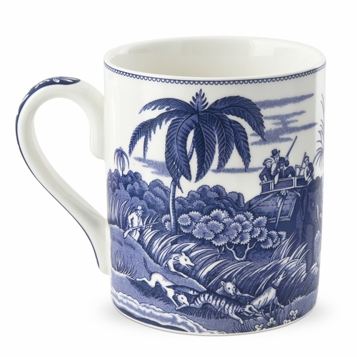 Blue Room Indian Sporting Mug by Spode