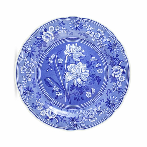 Blue Room Set of 6 Georgian Plates by Spode - (Available February 2020)