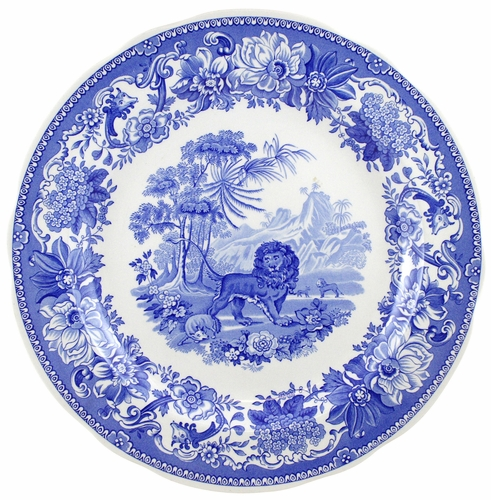 Blue Room Set of 6 Traditions Plates by Spode