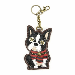 Boston Terrier Key Fob/Coin Purse