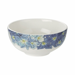 Botanic Blooms Hydrangea Rimless Bowl by Portmeirion