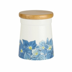 Botanic Blooms Hydrangea Small Store Jar by Portmeirion
