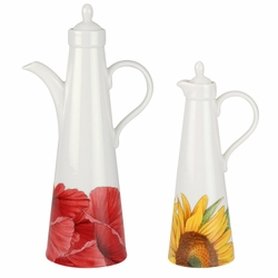 Botanic Blooms Oil & Vinegar Set by Portmeirion