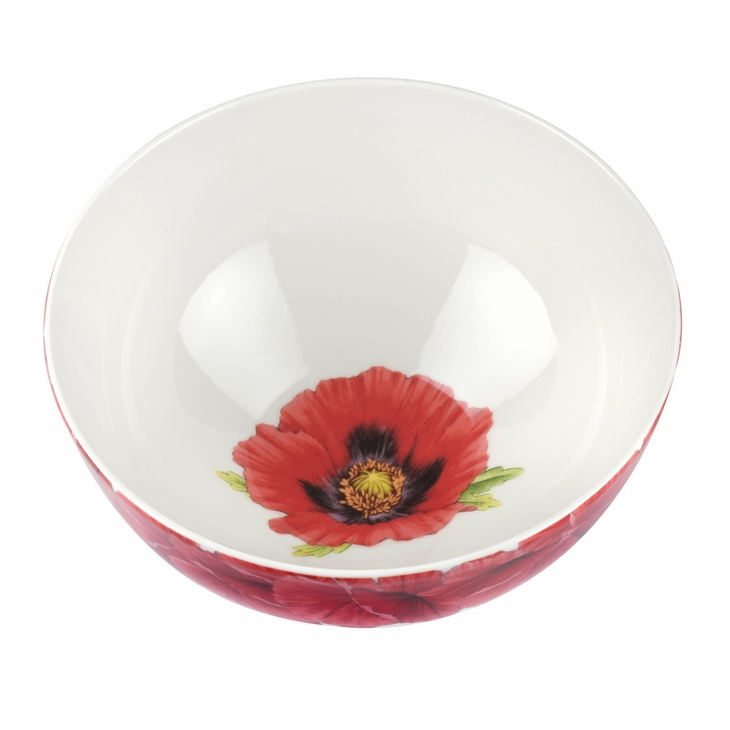 sc 1 st  The L& Stand & Botanic Blooms Poppy Bowl by Portmeirion