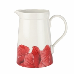 Botanic Blooms Poppy Large Jug by Portmeirion