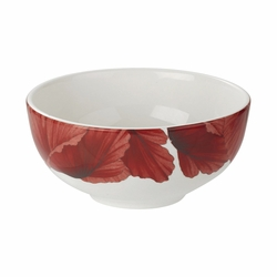 Botanic Blooms Poppy Rimless Bowl by Portmeirion