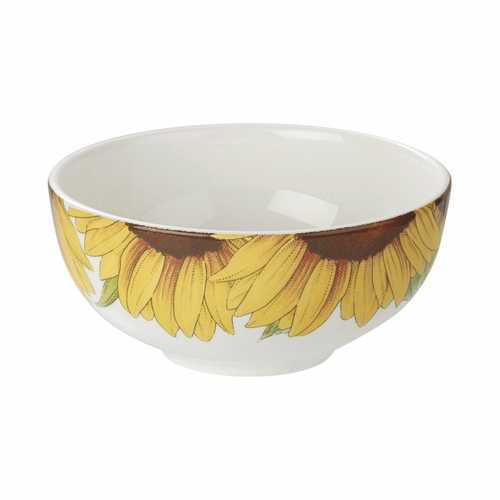 Botanic Blooms Sunflower Rimless Bowl (Set of 4) by Portmeirion