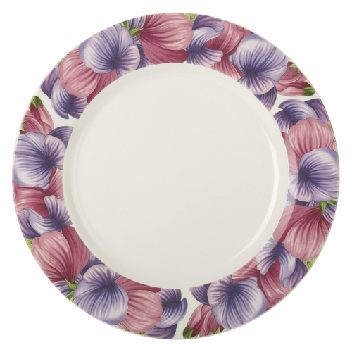 Botanic Blooms Sweet Pea Dinner Plate by Portmeirion