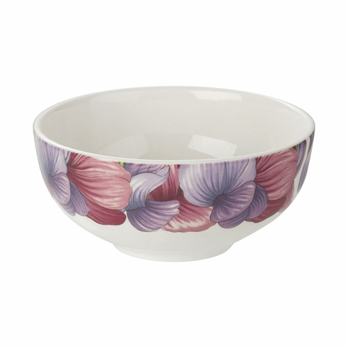 Botanic Blooms Sweet Pea Rimless Bowl by Portmeirion
