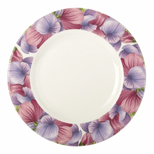 Botanic Blooms Sweet Pea Salad/Dessert Plate by Portmeirion