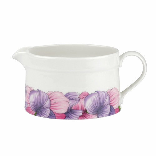 Botanic Blooms Sweet Pea Sauce Boat by Portmeirion