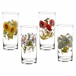 Botanic Garden Highball (Set of 4) by Portmeirion