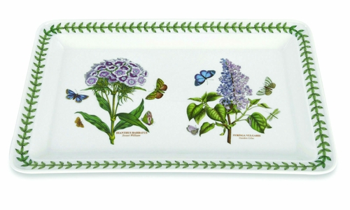 Botanic Garden Rectangular Tray (Assorted Motifs - May Vary) by Portmeirion