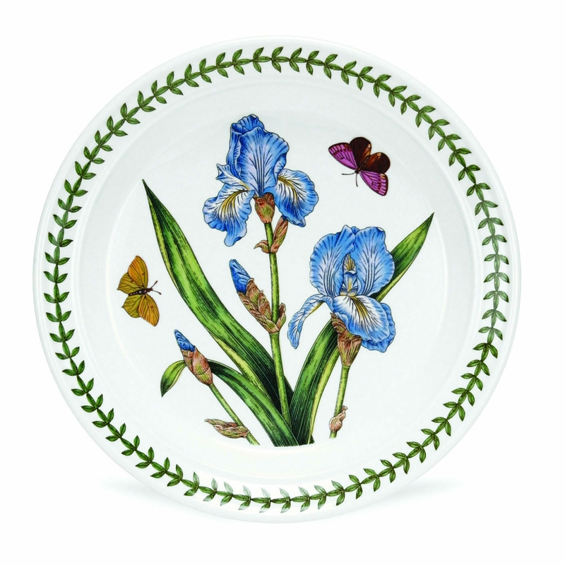 Botanic Garden Set Of 6 Salad Plates Assorted Motifs By Portmeirion