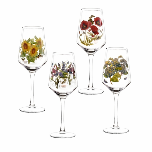 Botanic Garden Wine Glasses (Set of 4) by Portmeirion