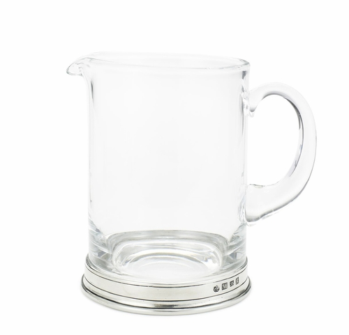 Branch Crystal Bar Pitcher by Match Pewter