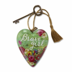 Brave Girl Art Heart