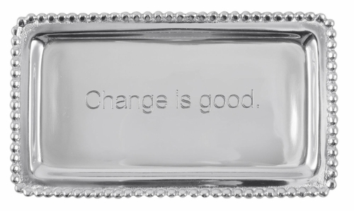 Change Is Good Statement Tray by Mariposa