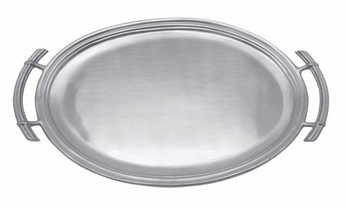 Classic Oval Service Tray by Mariposa
