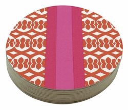 Margot 4-Inch Coasters (Pack of 12) by Mariposa