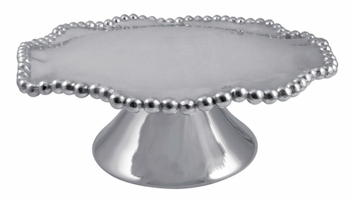 Pearled Wavy Cake Stand by Mariposa