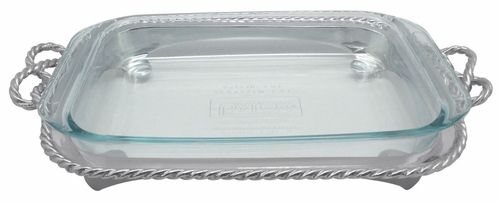 Rope Oblong Casserole Caddy by Mariposa